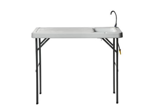Fiske / sløyebord m/vask og spyleslange