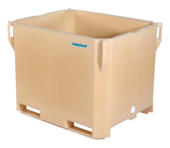 Sæplast 380 isolert plastcontainer